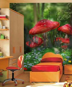 wallpaper-mushrooms-in-the-forest-preview