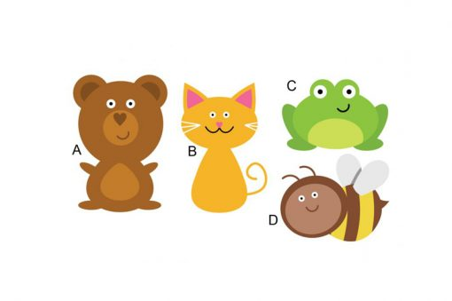 sticker-four-animal