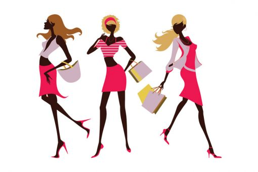 sticker-shopping-girls