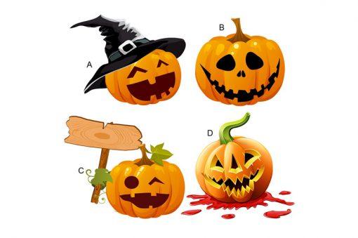 sticker-halloween-pumpkins