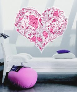 sticker-floral-heart