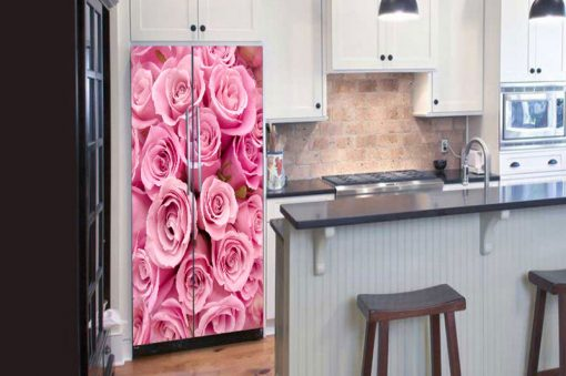 sticker-pink-roses