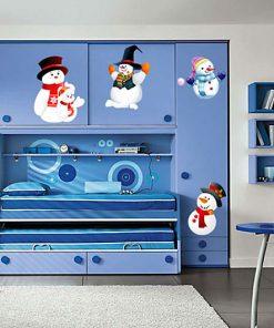 sticker-snowmen