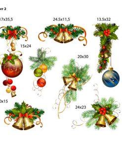 sticker-christmas-decoration