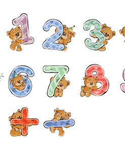sticker-numbers-with-bears