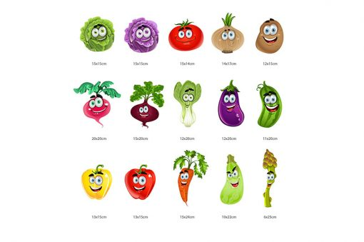 sticker-vegetables