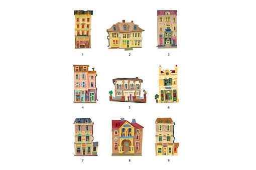 sticker-houses