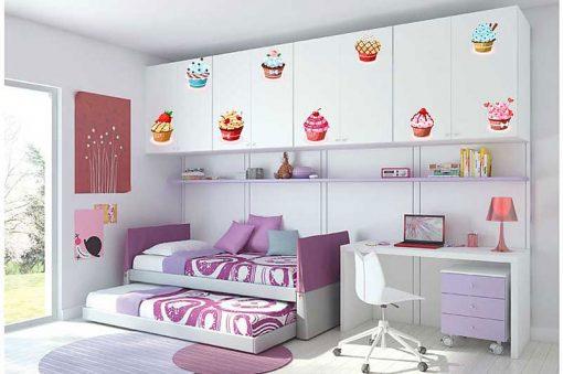 sticker-set-of-cupcakes
