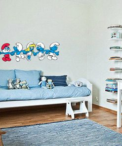 sticker-smurfs
