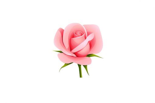 sticker-rose