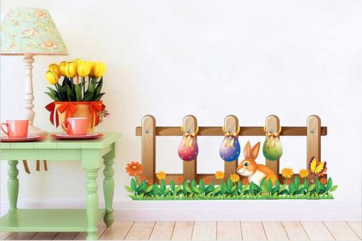 sticker-easter-fence