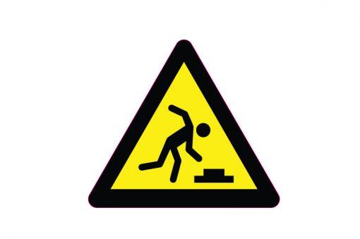 sticker-danger-of-stumbling