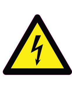 sticker-high-voltage