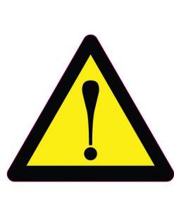 sticker-attention-danger