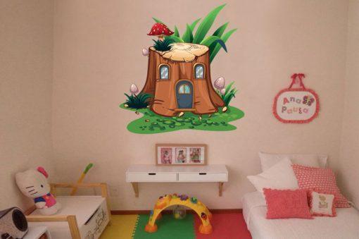 sticker-house-in-a-tree