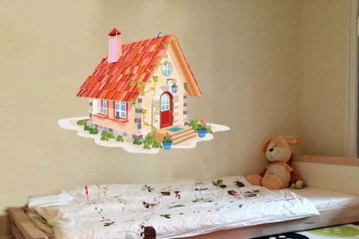 sticker-fairy-house