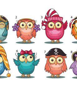 sticker-owl