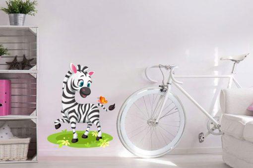 sticker-baby-zebra