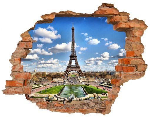 sticker-paris-view