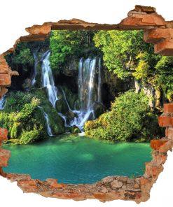 sticker-waterfall-view