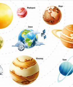 sticker-planets